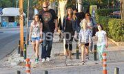 Οικογενειακή βόλτα για την Αννίτα Ναθαναήλ