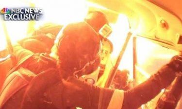 Βίντεο που κόβει την ανάσα: Σύγκρουση δυο αεροσκαφών στον αέρα!