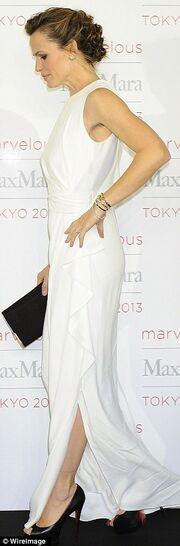 Η Jennifer Garner εκθαμβωτικά όμορφη σε εκδήλωση για τη νέα καμπάνια του οίκου Max Mara