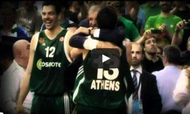 Παναθηναϊκός: Η «Χρυσή Βίβλος» του Διαμαντίδη στην Euroleague (video)