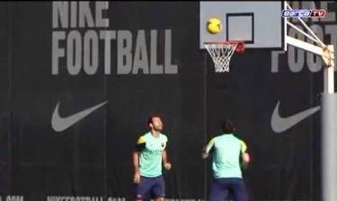 Μπαρτσελόνα: Ταλέντο και στο μπάσκετ ο Μέσι (video)