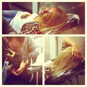 Δείτε τη Μαρία Ηλιάκη να κάνει το πρώτο της τατουάζ!