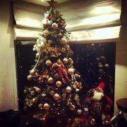 Στόλισε το Χριστουγεννιάτικο δέντρο της η γνωστή κυρία της σόουμπιζ