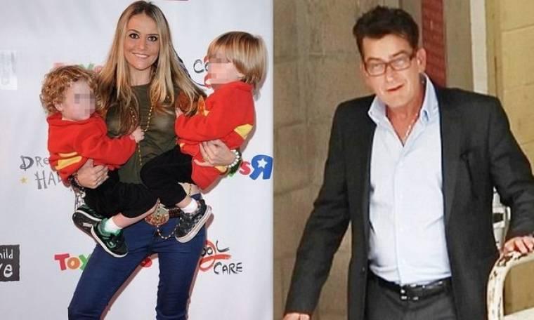 Ο Charlie Sheen περνά στην αντεπίθεση στο πόλεμο με την πρώην σύζυγό του