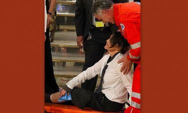 Σοβαρό ατύχημα στο Ιταλικό «Dancing with the stars»