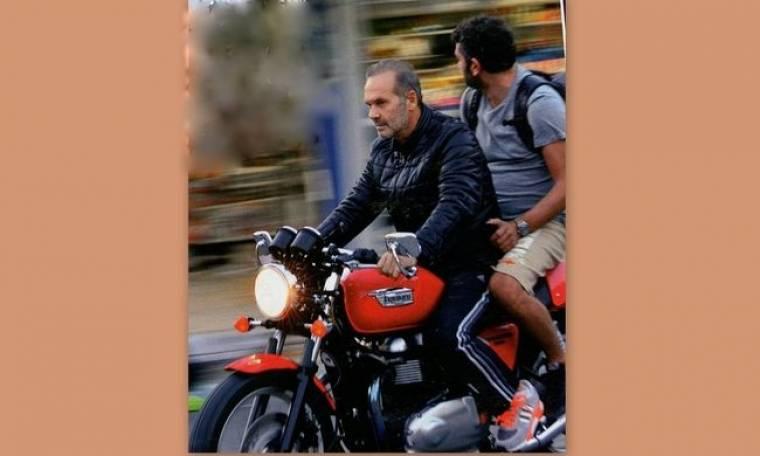 Ο easy rider Πέτρος Κωστόπουλος