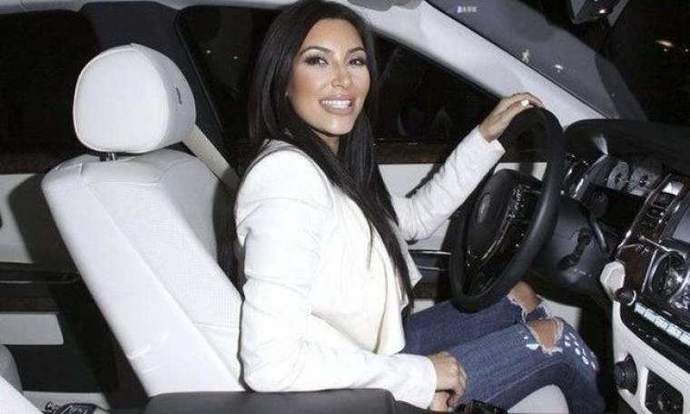 Για υπέρβαση του ορίου ταχύτητας «γράψανε» την Kim Kardashian