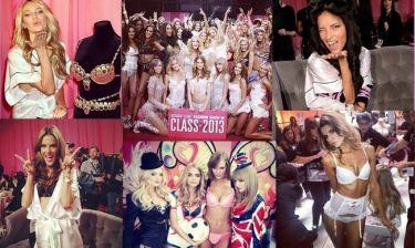 Backstage με τους Άγγελους της Victoria's Secret (photos)