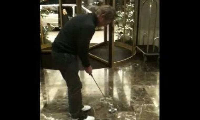 Πως να κερδίσεις στοίχημα παίζοντας... γκολφ! (βίντεο)