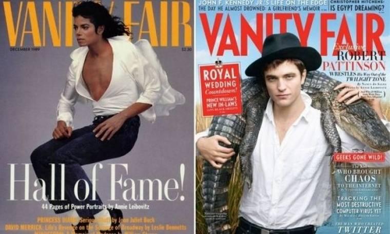 Michael Jackson και Robert Pattinson κονταροχτυπιούνται για το καλύτερο εξώφυλλο ever του Vanity Fair!