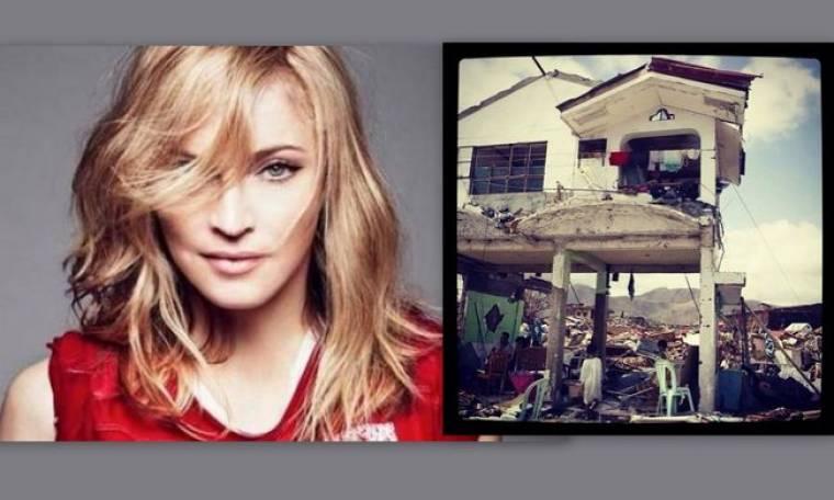 Madonna: Στηρίζει τους πληγέντες στις Φιλιππίνες