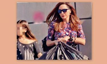 Δέσποινα Βανδή: Για ψώνια με την Μελίνα