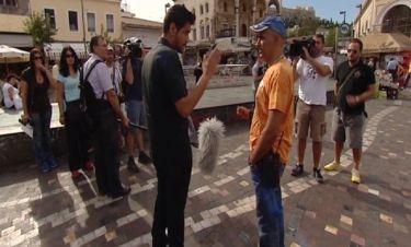 «Smart face»: Το τηλεπαιχνίδι του δρόμου έκανε πρεμιέρα