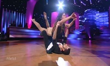 Η Μαίρη Συνατσάκη «έπεσε» στα πατώματα και κέρδισε τους κριτές του «Dancing»