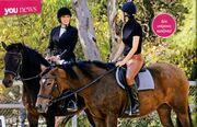 Πετρουλάκη-Ράλλη: Γυμναστική με τα άλογα!