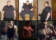 Κι όμως είναι ο ίδιος άνθρωπος! Έχασε 114 κιλά μέσα σε 18 μήνες!