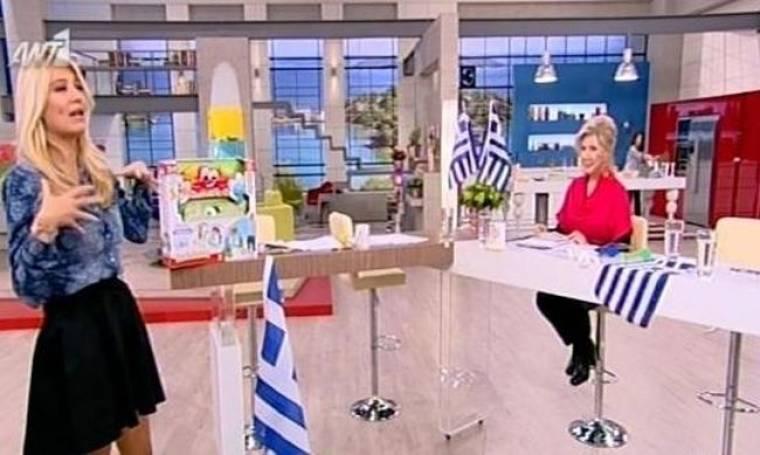 Φαίη Σκορδά: Όλο και μεγαλώνει η κοιλίτσα της!