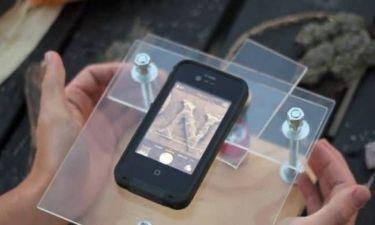 Κάποιοι έκαναν την απλή κάμερα του κινητού τους μικροσκόπιο! (βίντεο)