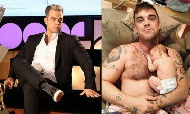 Robbie Williams: «Ανησυχώ μήπως η κόρη μου γνωρίσει κάποιον σαν εμένα»