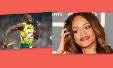 Τρελά ερωτευμένος με την Rihanna o Usain Bolt