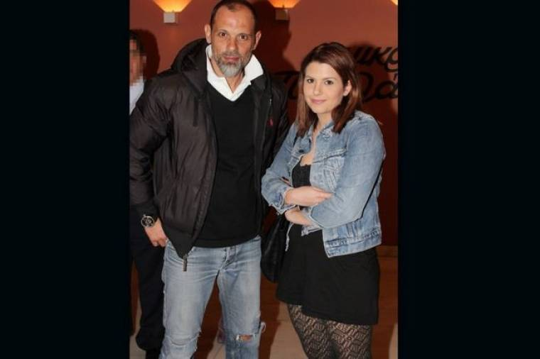 Τζώνη Θεοδωρίδης: Νυχτερινή έξοδος με την κόρη του