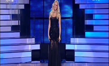 Δούκισσα Νομικού: Με μαύρη εντυπωσιακή τουαλέτα στο 5ο live του «Dancing with the stars»