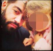 Ο Κωνσταντίνος Σκορδάλης σε τρυφερές στιγμές με τις κόρες του