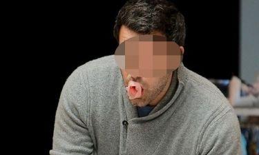 Ποιος διάσημος ηθοποιός κάνει... τσιχλόφουσκες;