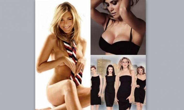 Η γυμνή Aniston, η τέλεια Παπαβασιλείου και το ψέμα του Sex & the City!