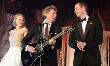 Ο Jon Bon Jovi τραγουδάει και ο πρίγκιπας William τού κάνει δεύτερη φωνή! (φωτογραφίες)