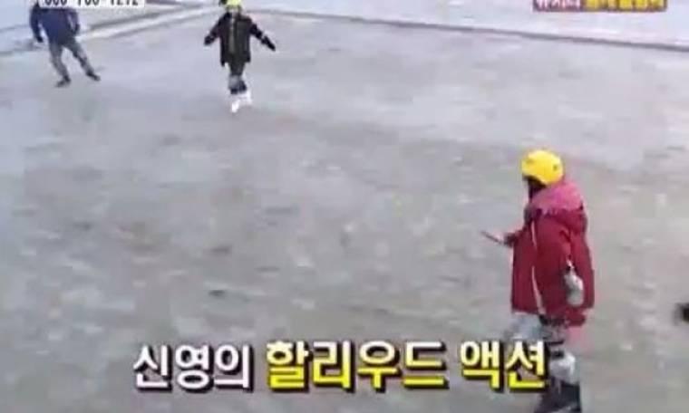 Aυτό είναι το νέο άθλημα που έχει τρελάνει τους έφηβους Κορεάτες! (βίντεο)