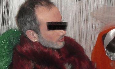 Σοκαριστικές φωτογραφίες! Αρχιμανδρίτης με… γούνα, στρας και μάσκαρα!