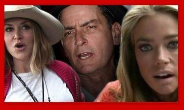 Ο πόλεμος συνεχίζεται για τον Charlie Sheen και τις δύο πρώην του!