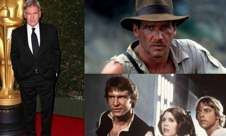 Harrison Ford: Του είχαν πει ότι δεν έχει το αστέρι για να γίνει διάσημος και πληρωνόταν με 150 $ την ημέρα!