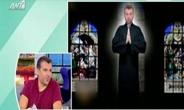 Ο Λιάγκας… παπάς, η ενόχλησή του και το τέλος στην τηλεόραση