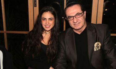 Λευτέρης Πανταζής: Για μεζεδάκια με την κόρη του!