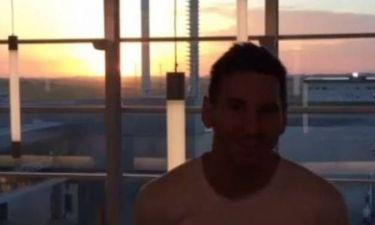 Μπαρτσελόνα: Ο Μέσι, το ηλιοβασίλεμα και ο… Τάισον (photo+video)