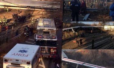 Εκτροχιασμός τρένου με νεκρούς στη Νέα Υόρκη