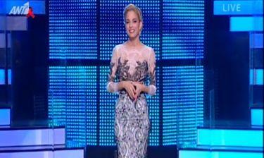 Εντυπωσιακή για μια ακόμη φορά η Δούκισσα στο έκτο live του Dancing with the stars!