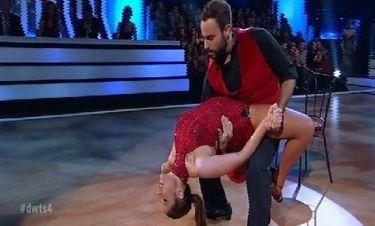 Με στόχο να πάει τελικό η «χορογράφος» Χρύσπα τα «έσπασε» στο Dancing with the stars!