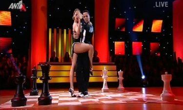 Κλέλια Πανταζή: Έγινε η «βασίλισσα» του αποψινού Dancing with the stars και πήρε το πρώτο οχτάρι!