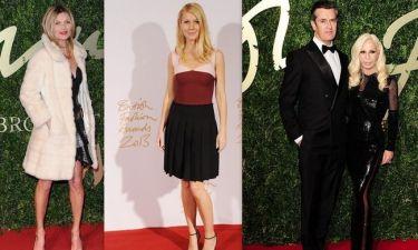 British Fashion Awards 2013: Οι νικητές, οι λαμπερές εμφανίσεις και οι άτυχες στυλιστικές επιλογές!