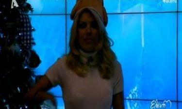 Διακοπή ρεύματος on air για την Ελένη Μενεγάκη!