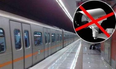 «Φρένο» στις κάμερες μέσα στα βαγόνια του μετρό