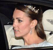 Η Kate Middleton με την τιάρα στο κεφάλι!