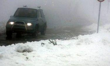 Σε κλοιό κακοκαιρίας - Ισχυροί άνεμοι και χιόνια στα ορεινά