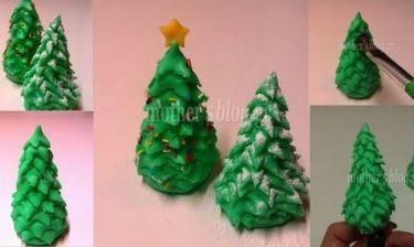 My cakes - My hobby: Φτιάχνουμε ελατάκια με ζαχαρόπαστα για να στολίσουμε τις δημιουργίες μας!