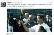 Δεν έχει τέλος η θλίψη των celebrities στα social media για τον θάνατο του Nelson Mandela