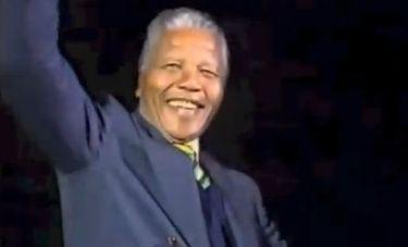 Αυτή είναι η πρώτη ομιλία και συνέντευξη του Nelson Mandela μετά την αποφυλάκιση του!