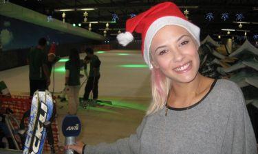 Η Λάουρα Νάργιες έκανε…  σκι και snowboard!